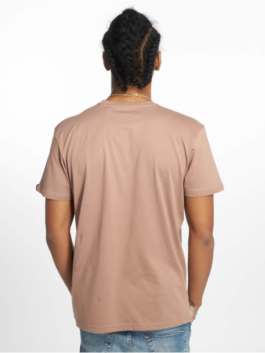 Alpha Industries t-shirt Basic Small Logo bruin