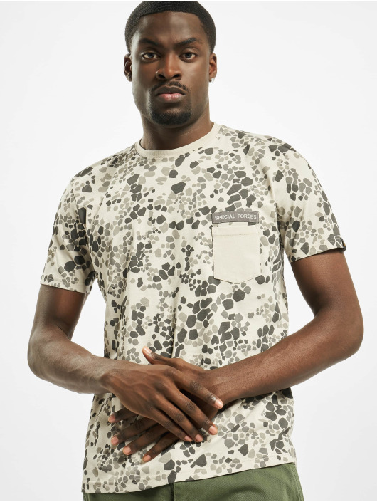 Alpha Industries T-Shirt Special Forces camouflage