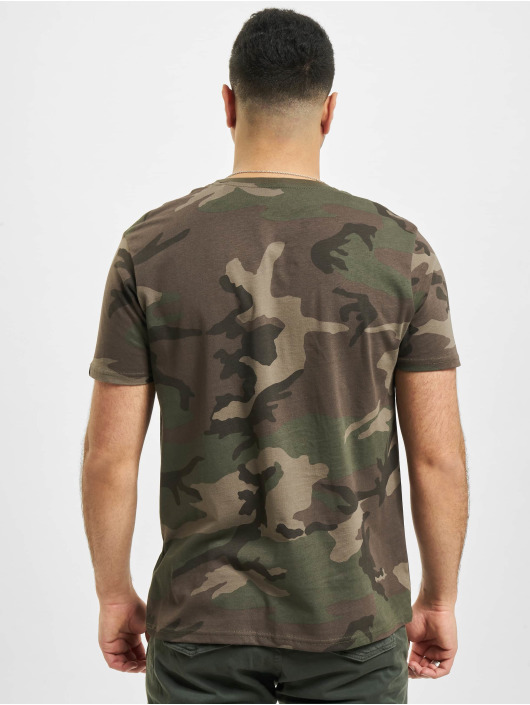 Alpha Industries T-Shirt Block Logo camouflage