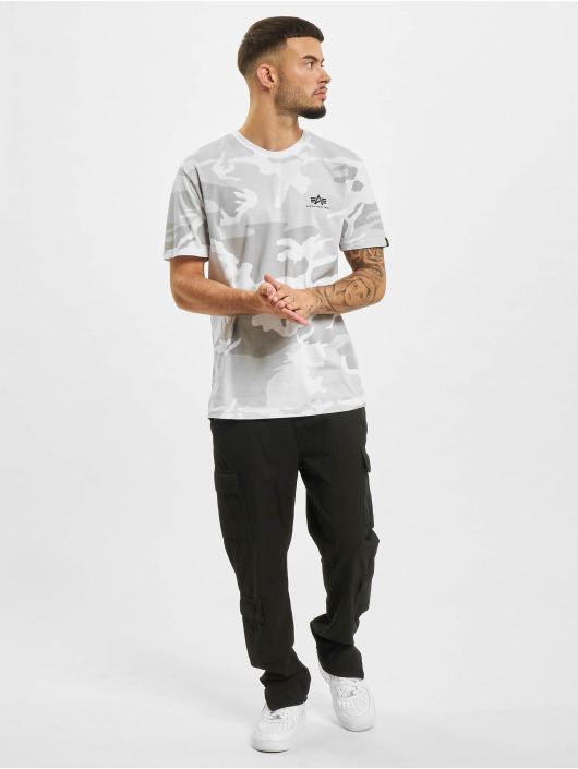 Alpha Industries T-Shirt Basic Small Logo camouflage