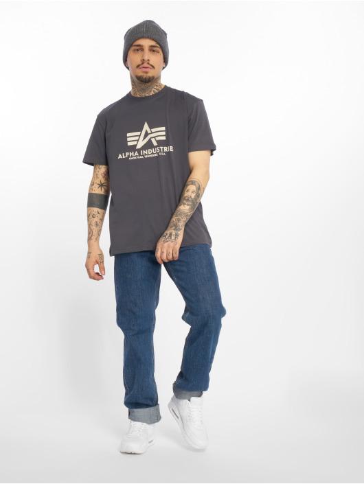 Alpha Industries T-shirt Basic grå