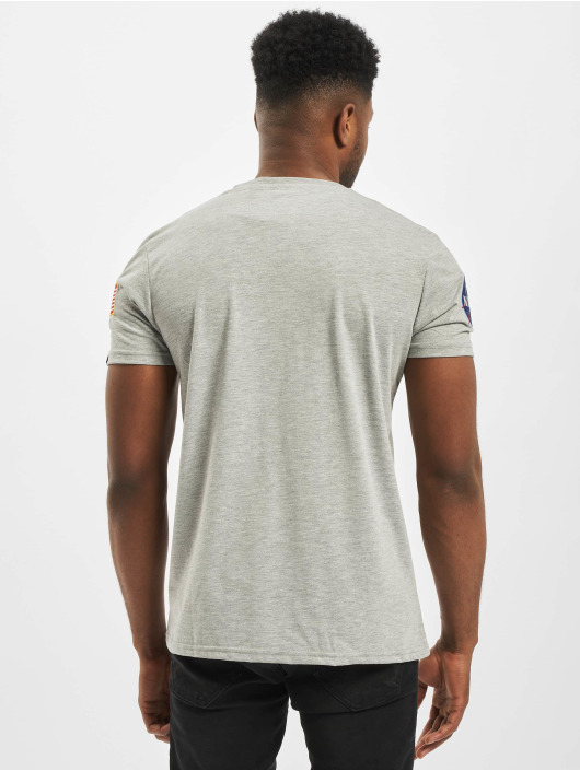 Alpha Industries T-Shirt Nasa grau