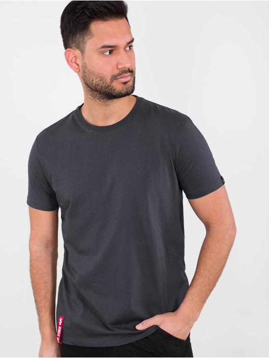 Alpha Industries T-Shirt Blood Chit T grey