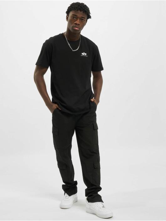 Alpha Industries T-shirt Backprint nero