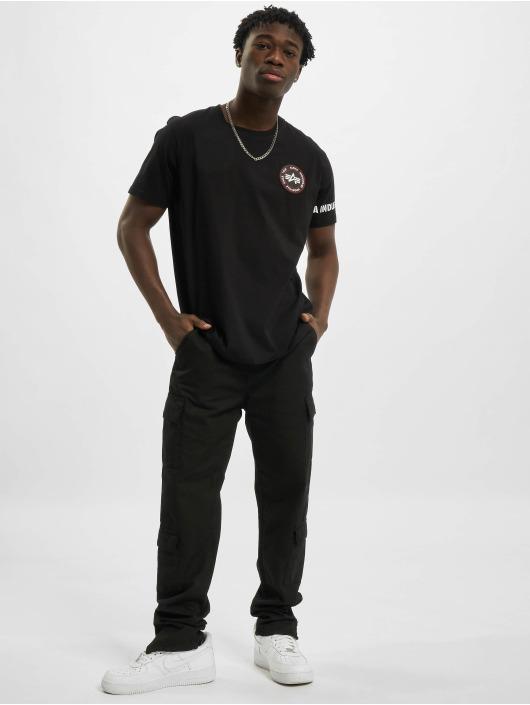 Alpha Industries T-shirt RBF Back Stripe nero