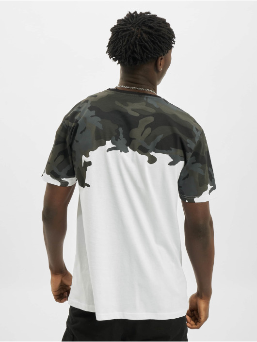 Alpha Industries T-shirt Lost Camo nero