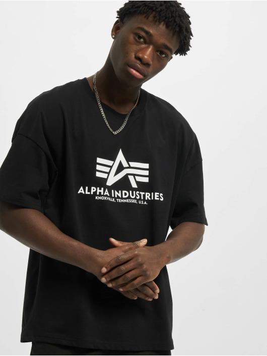 Alpha Industries T-Shirt Basic OS Heavy noir