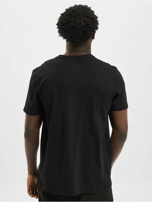 Alpha Industries T-Shirt Basic Small Logo Foil Print noir