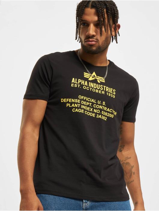 Alpha Industries T-Shirt Fundamental noir
