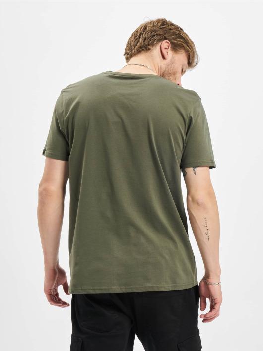 Alpha Industries T-Shirt Basic Reflective olive