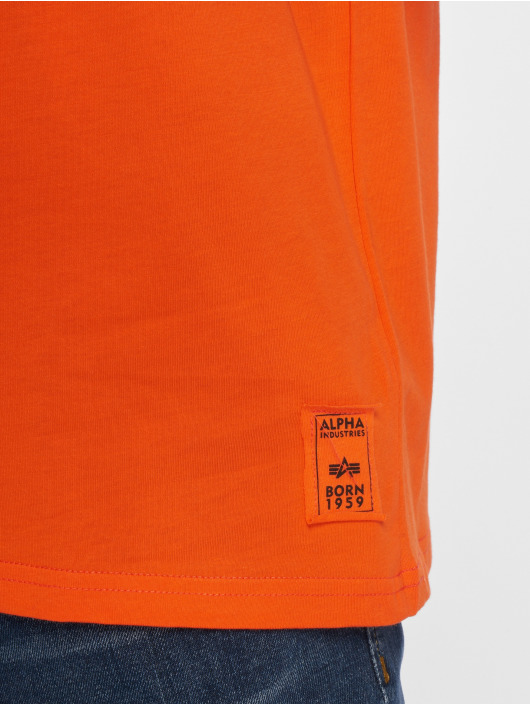 Alpha Industries T-Shirt Camo Print orange