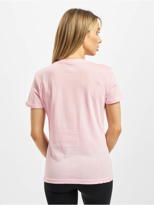 Alpha Industries T-Shirt Basic T Small Logo pink