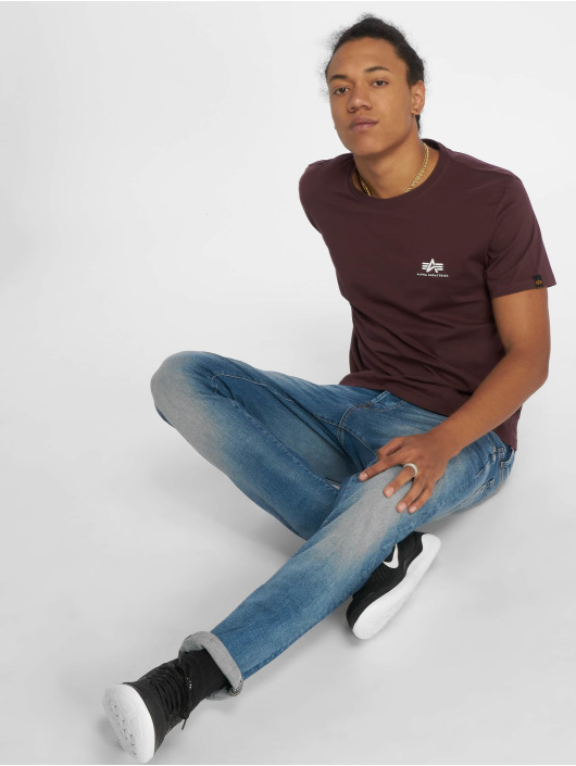 Alpha Industries T-shirt Basic Small rosso