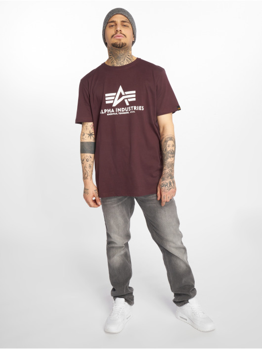 Alpha Industries T-Shirt Basic rouge