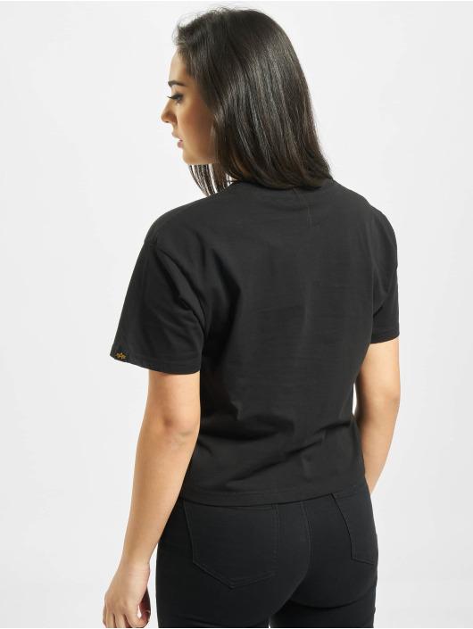 Alpha Industries T-Shirt Big A T Wmn schwarz