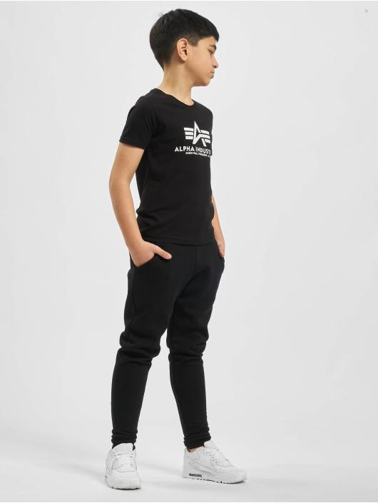 Alpha Industries T-Shirt Basic schwarz