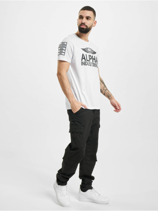 Alpha Industries T-Shirt Rebel T weiß