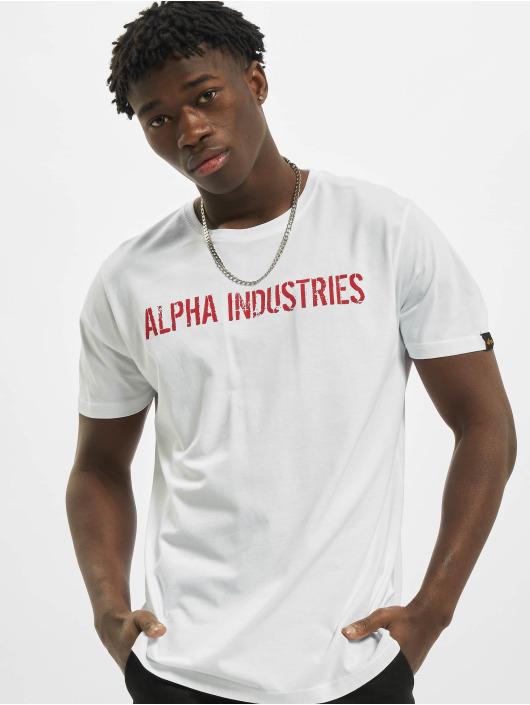 Alpha Industries T-Shirt RBF Moto weiß