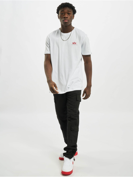 Alpha Industries T-Shirt Backprint weiß