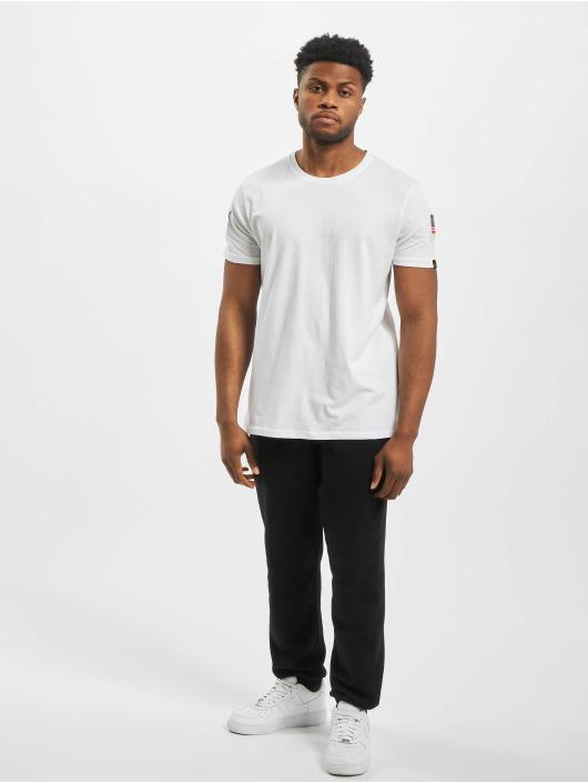 Alpha Industries T-Shirt Nasa white