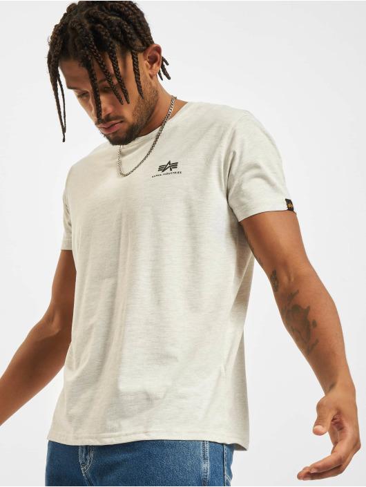 Alpha Industries T-Shirt Basic Small Logo white