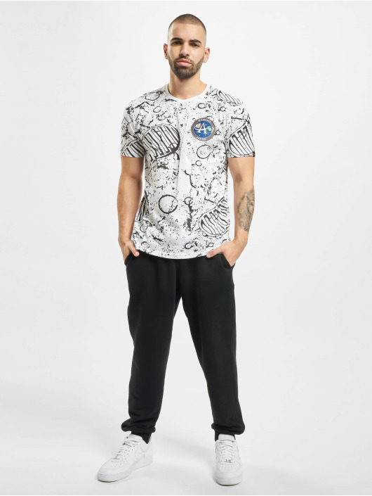 Alpha Industries t-shirt Moon wit