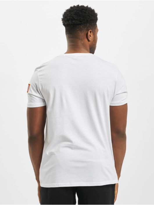 Alpha Industries t-shirt Nasa wit