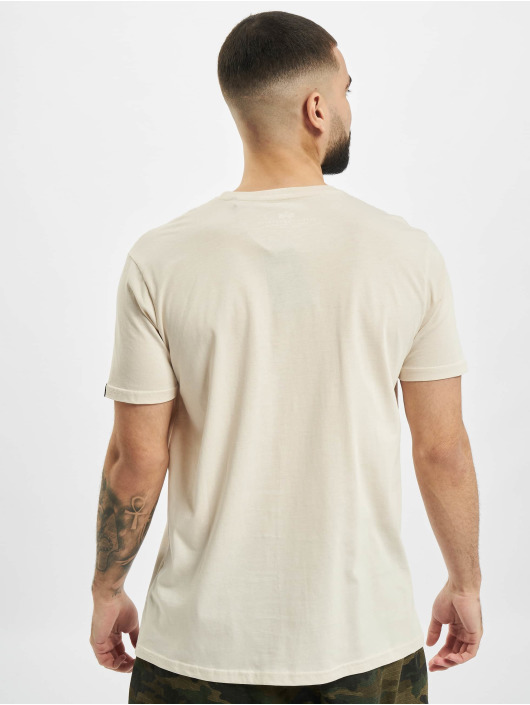 Alpha Industries t-shirt Basic Small Logo wit