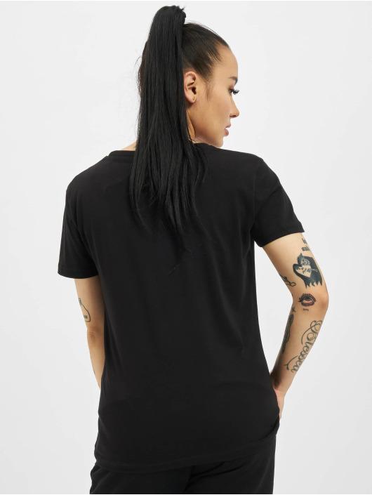 Alpha Industries t-shirt New Basic Foil Print zwart
