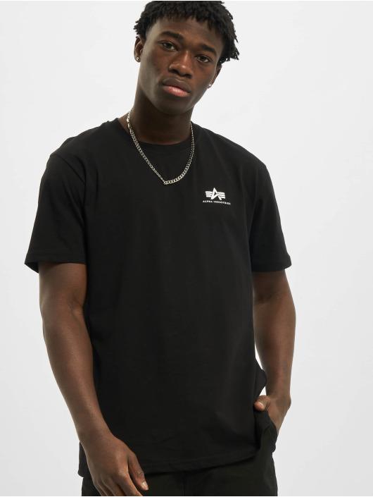 Alpha Industries t-shirt Backprint zwart