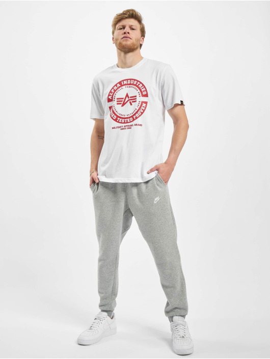 Alpha Industries T-shirts TTP T hvid