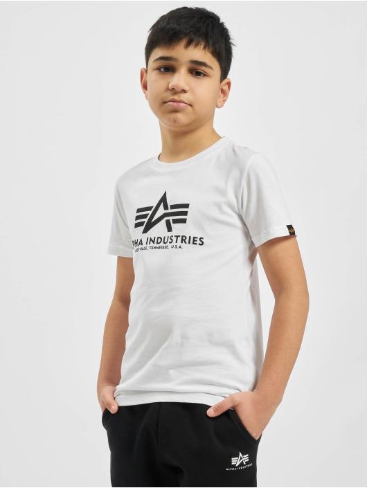 Alpha Industries T-shirts Basic hvid
