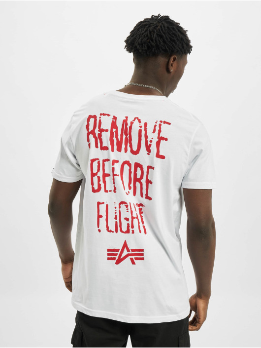 Alpha Industries T-shirts RBF Moto hvid