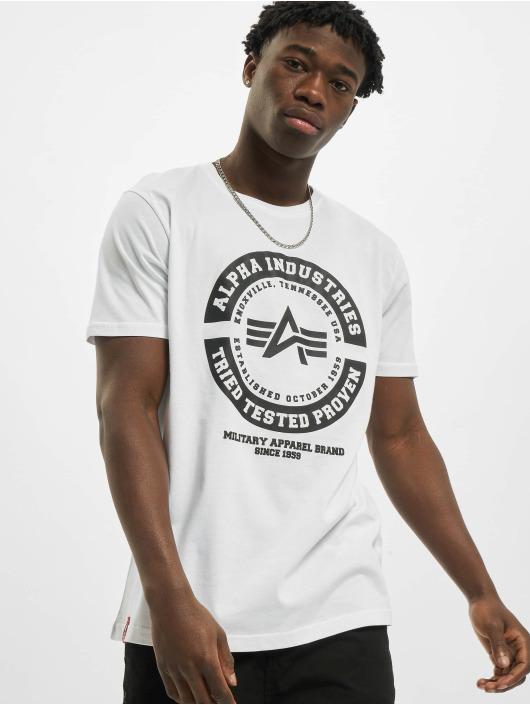 Alpha Industries T-shirts TTP hvid