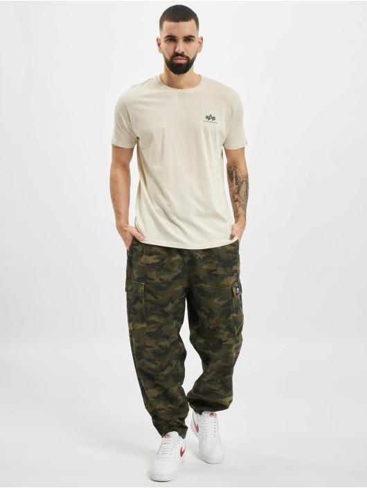 Alpha Industries T-shirts Basic Small Logo hvid