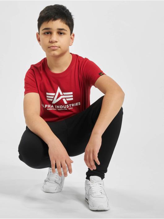 Alpha Industries T-shirts Basic rød