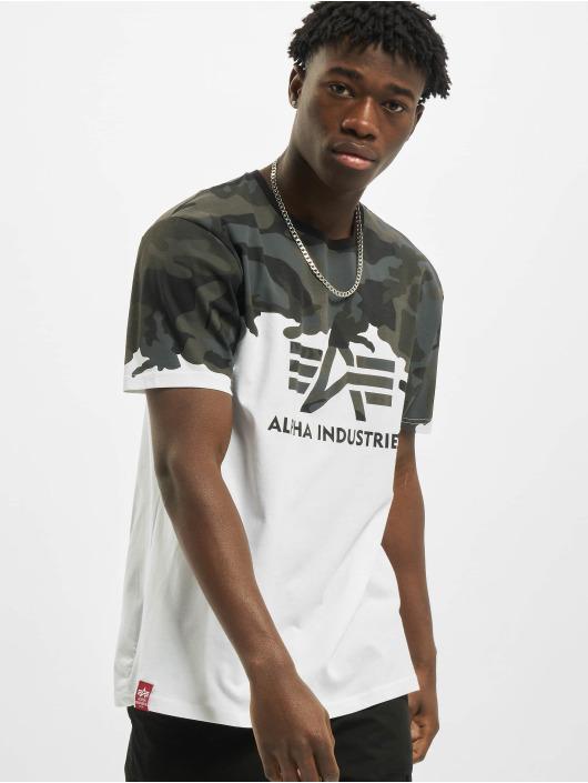 Alpha Industries T-shirts Lost Camo sort