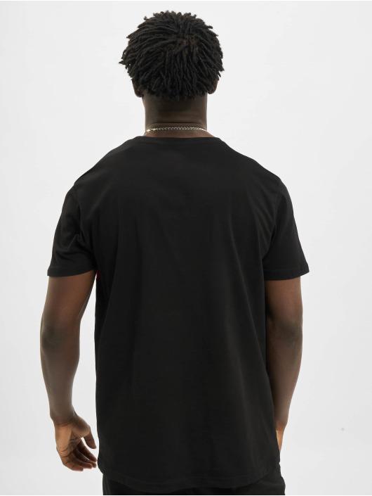 Alpha Industries T-shirts Alpha Inlay sort