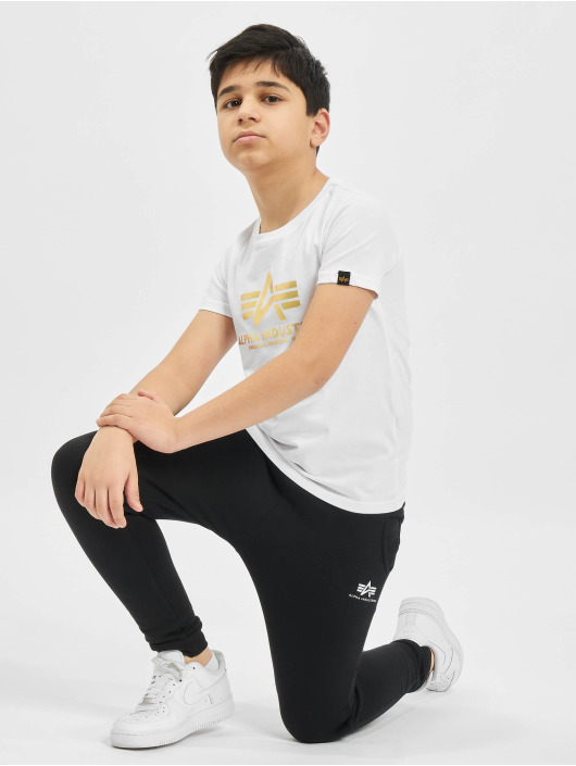 Alpha Industries T-Shirty Basic bialy