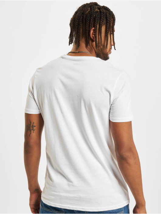 Alpha Industries T-Shirty Basic Foil Print bialy