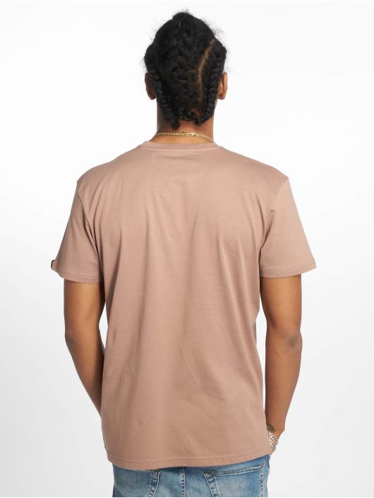 Alpha Industries T-Shirty Basic Small Logo brazowy
