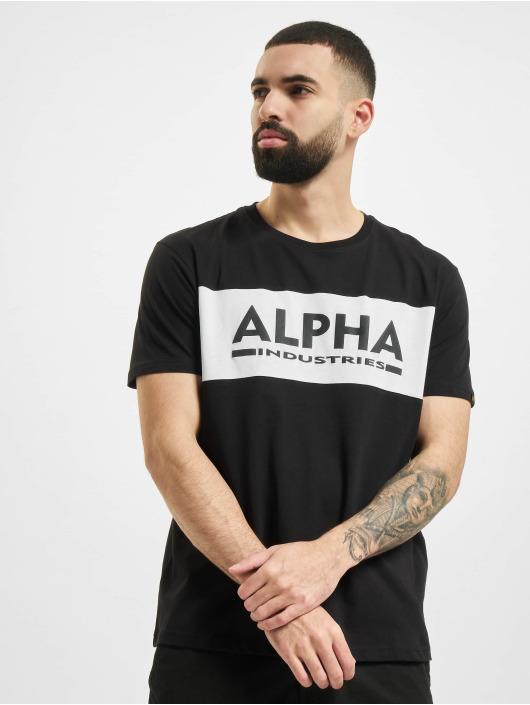 Alpha Industries T-Shirty Inlay czarny