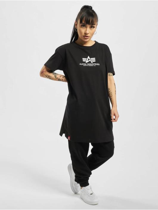 Alpha Industries T-Shirty Basic T Long czarny