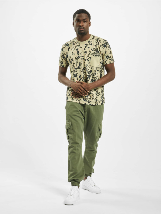 Alpha Industries T-Shirty Special Forces khaki