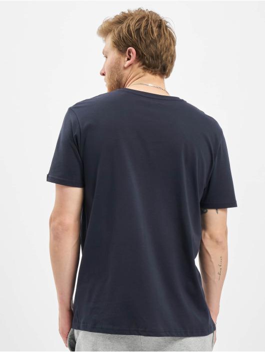 Alpha Industries T-Shirty Basic Reflective Print niebieski