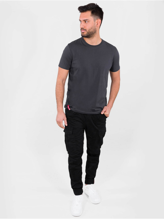 Alpha Industries T-Shirty Blood Chit T szary
