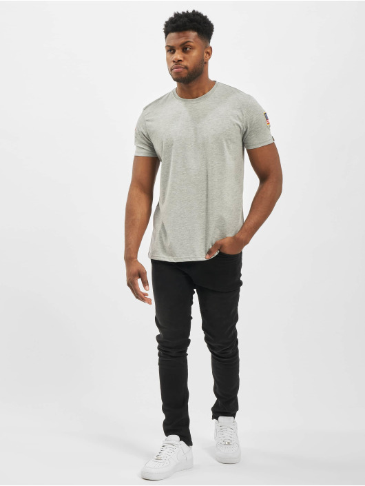 Alpha Industries T-skjorter Nasa grå