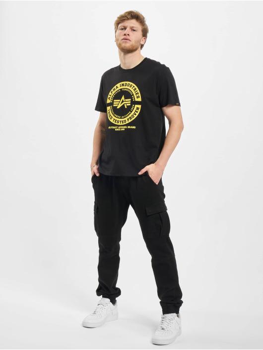 Alpha Industries T-skjorter TTP T svart