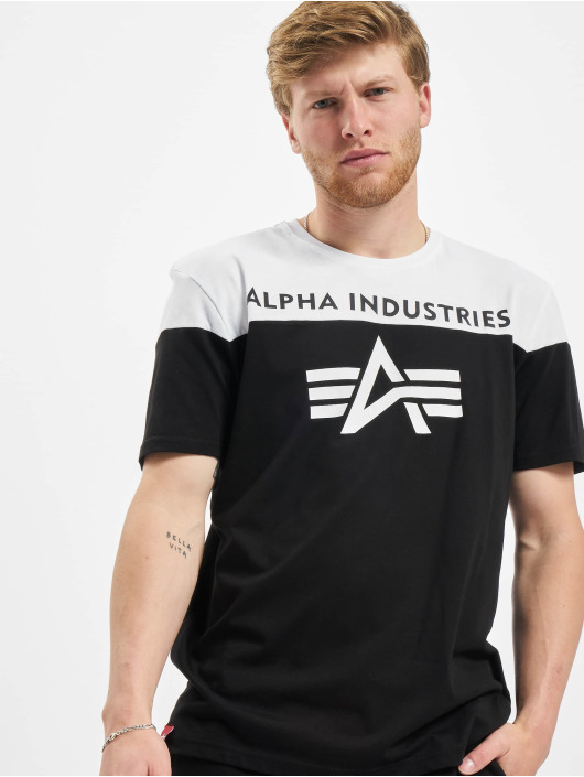 Alpha Industries T-skjorter CB T svart