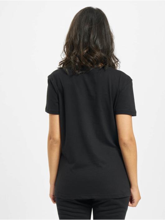 Alpha Industries T-skjorter Basic T Small Logo Foil Print svart